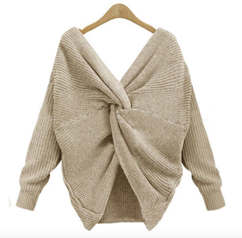 In a Knot Reversible Sweater