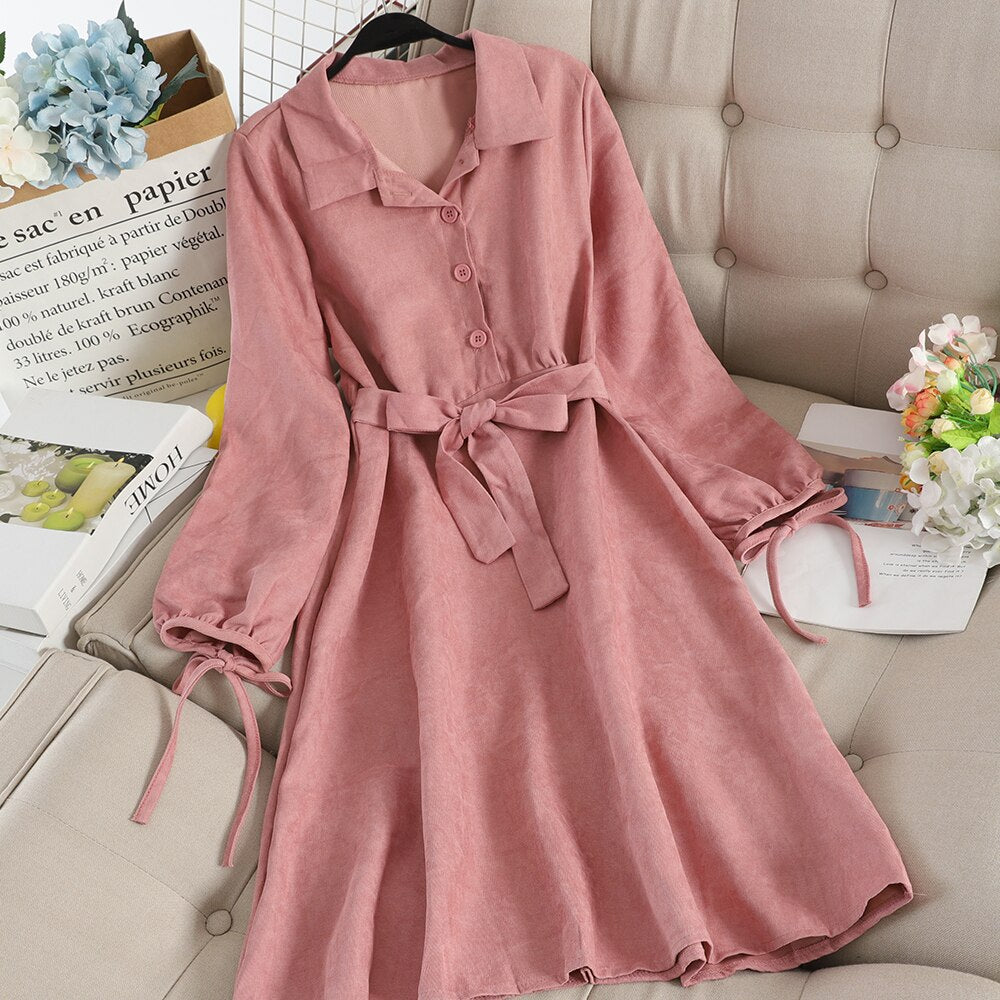 Casual Vintage Dress