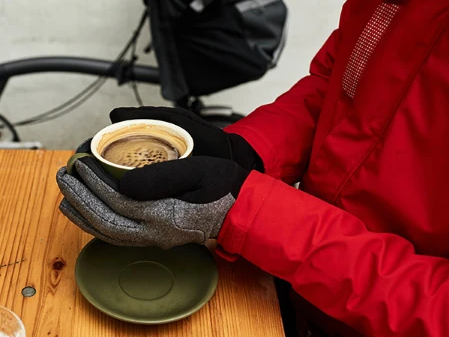 Stay warm on your bike this winter - and look good!