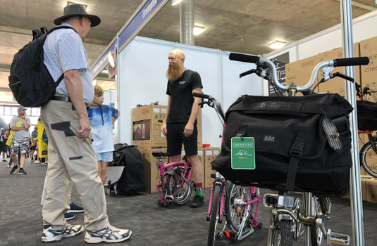 Brompton Junction Unfolds at Victoria's Caravan & Camping Show