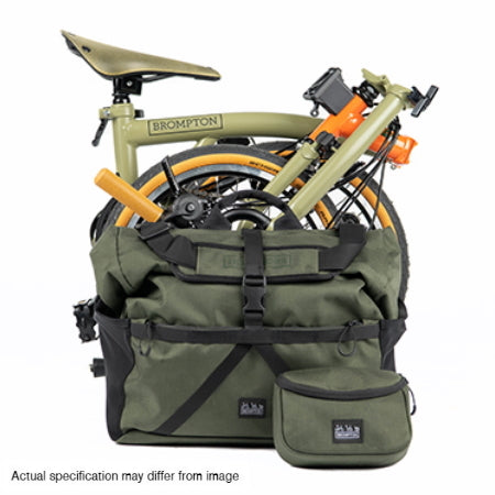 Folded Brompton Explore Edition bike