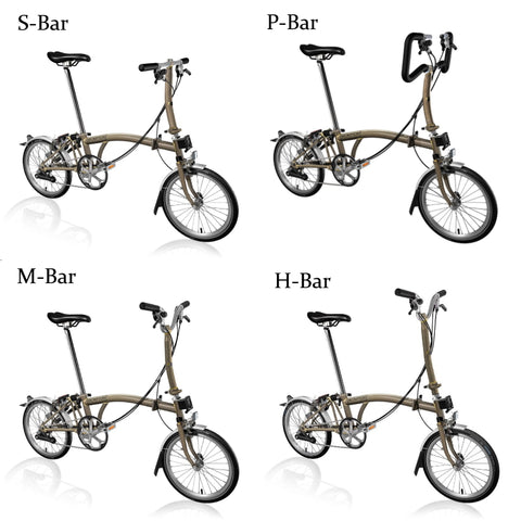 Brompton handlebar heights