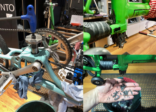 seatpost cleaning and servicing