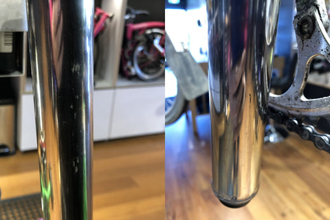 cleaning the seatpost