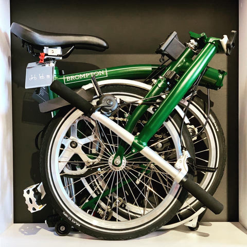 Brompton S3L in Racing Green, limited special offer for our opening
