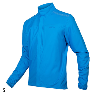 Barcelona Packable Jacket - Blue - Small