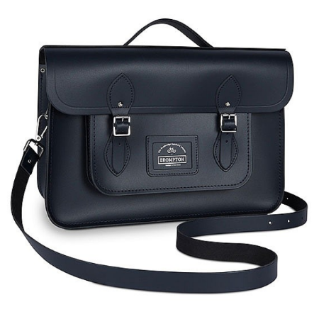 "Brompton - Cambridge Satchel Bag ""Batchel"" - Navy"