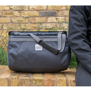 Borough Basket Bag - Dark Grey