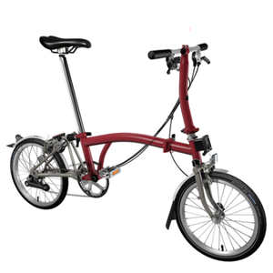 House Red S6L-X Brompton (Superlight)