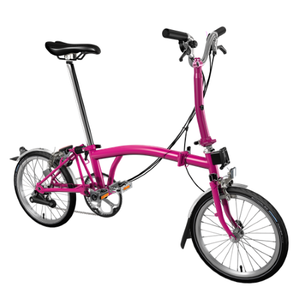 Brompton M6L Hot Pink 2019 foldable bicycle