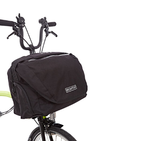 Brompton C-Bag - Black - With Frame, Strap and Rain Cover