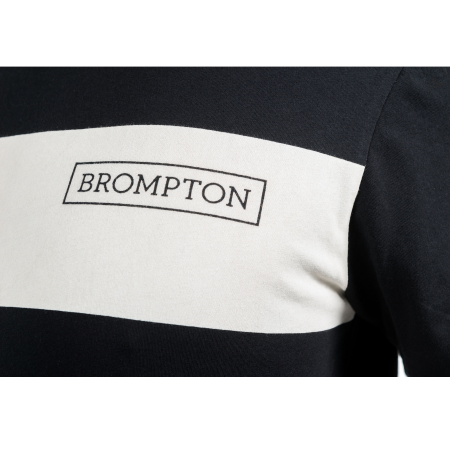 Black Brompton Logo T-shirt - Large - logo