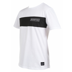 White Brompton Logo T-shirt - Small - side