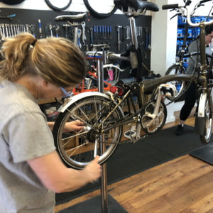 Brompton Maintenance Session 1 - Wheel Removal & Hub Gear Indexing (Attendance)