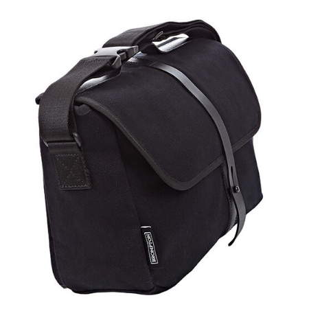 Black Brompton Shoulder Bag with Frame - side