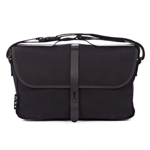 Black Brompton Shoulder Bag with Frame - front