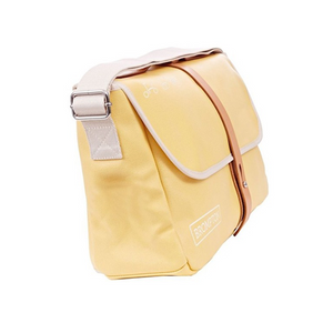 Brompton Shoulder Bag - Yellow Canvas - With Frame
