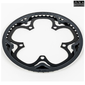 Brompton Chainring & Guard 130BCD - 54T - Black