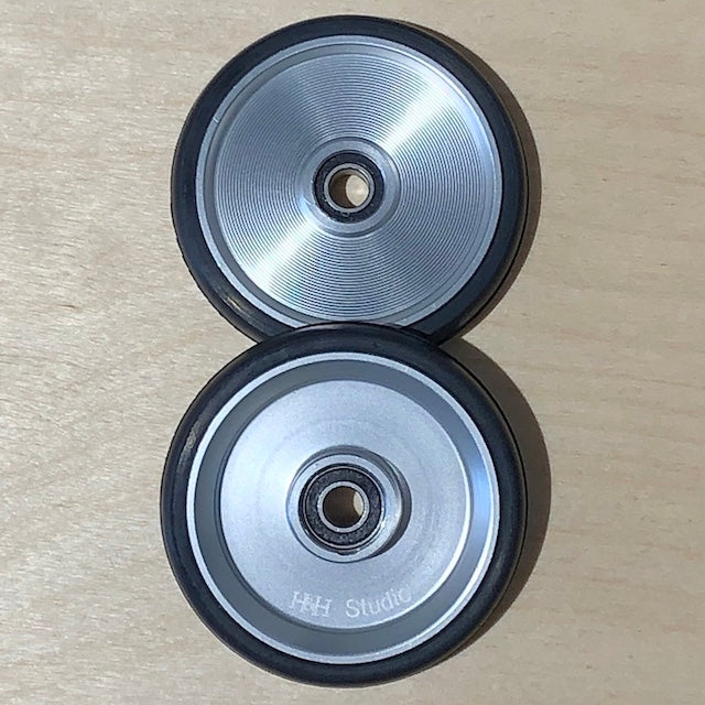 H&H Ezwheels - Silver - 55mm