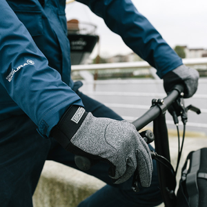 London Windproof Gloves - Grey Marl - XSmall