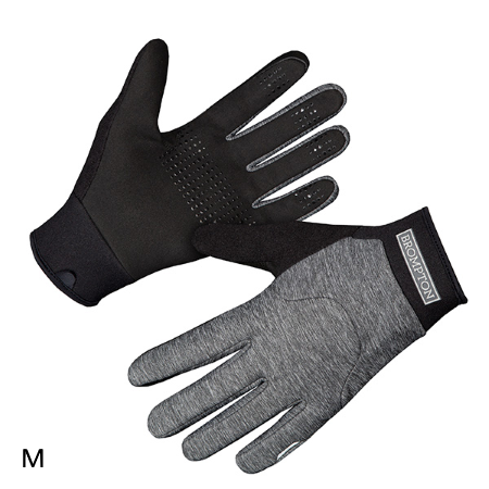 London Windproof Gloves - Grey Marl - Medium