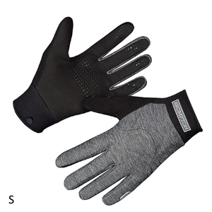 London Windproof Gloves - Grey Marl - Small