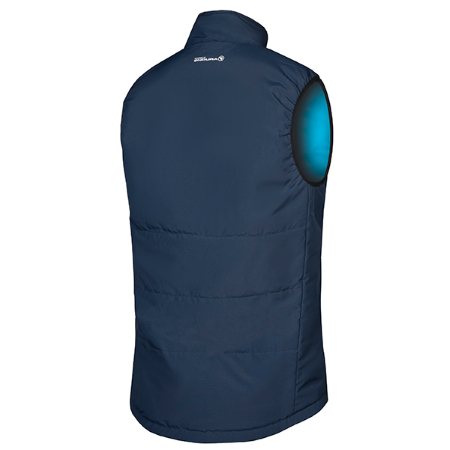 New York Reversible Gilet - Navy / Blue