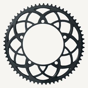 Bespoke Chainrings 54T Rose Window Black 130BCD 3/32