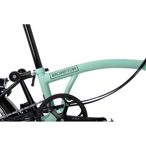 Brompton - S6L - Turkish Green Black Edition