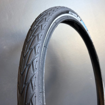 Schwalbe Marathon Racer 16x1+1/3 (35-349) Tyre for Brompton - zoomed