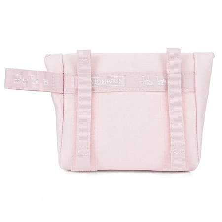 Cherry Blossom Brompton Saddle Pouch - back