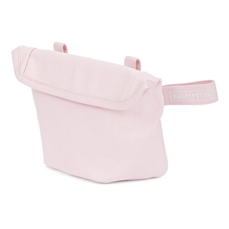 Cherry Blossom Brompton Saddle Pouch - front