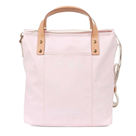 Cherry Blossom Brompton Tote Bag with Frame - front