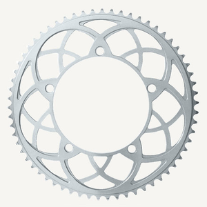 Bespoke Chainrings 54T Rose Window -'Silver' - 130BCD 3/32 - for Brompton