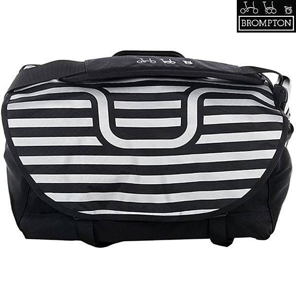 Brompton S-Bag - Handlebar Reflective Flap - With Frame, Strap and Rain Cover