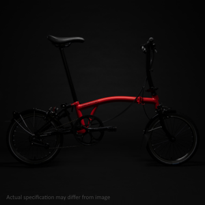 Brompton - M6L-X - Rocket Red Black Edition - Superlight (Pre-order now)