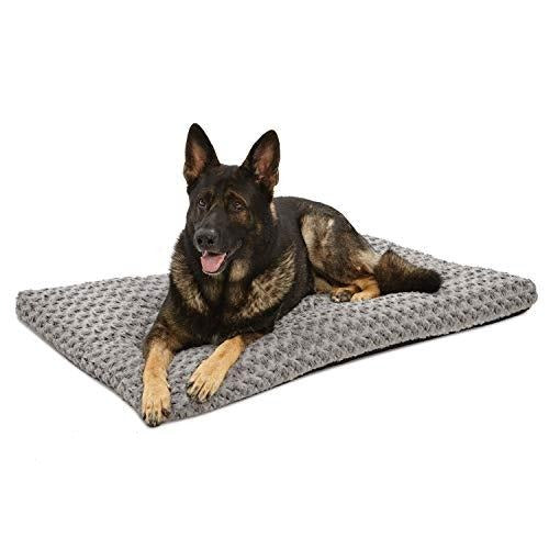 Pet Bed Grey Swirl Bed (120cm , Gray)