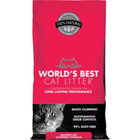 Worlds Best Cat Litter Clumping