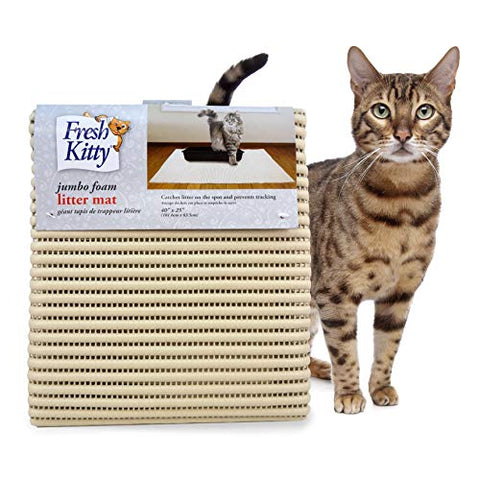 "Kitty Jumbo Foam Litter Mat 40""x25"""