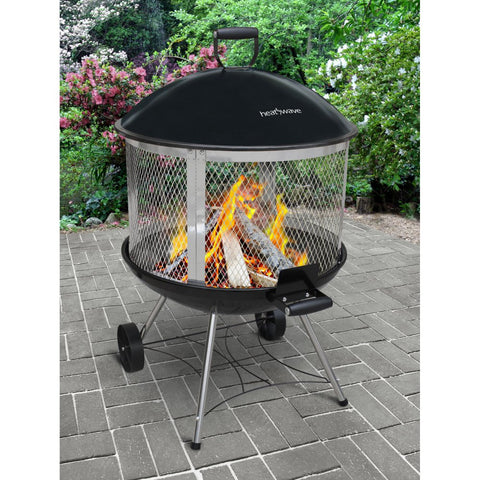 Landmann Heatwave Outdoor Steel Fireplace