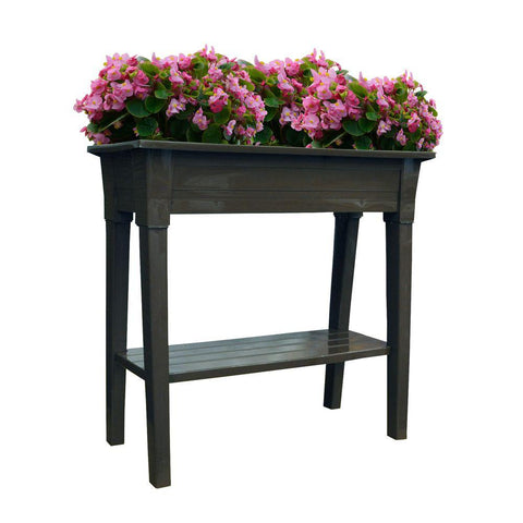 Adams Manufacturing Deluxe Resin Garden Planter