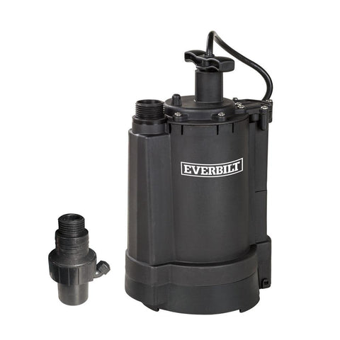 Everbilt 1/3 HP Automatic Utility Pump