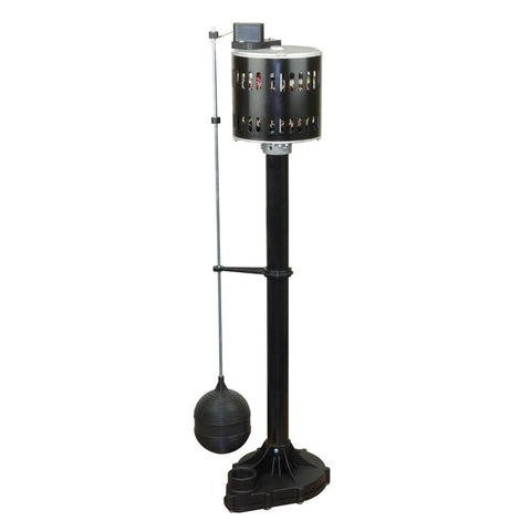 Everbilt 1/3 HP Plastic Pedestal Pump