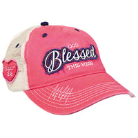 Womens Cap God Blessed