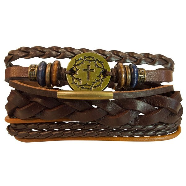 Faith Gear Christian Bracelet Golden Crown