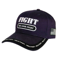 Mens Cap Fight The Good Fight
