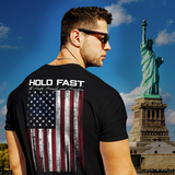 HOLD FAST Men's T-Shirt Hold Fast Flag