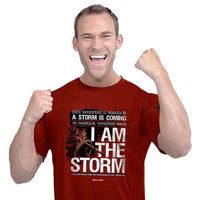HOLD FAST™ Men's T-Shirt—I Am the Storm