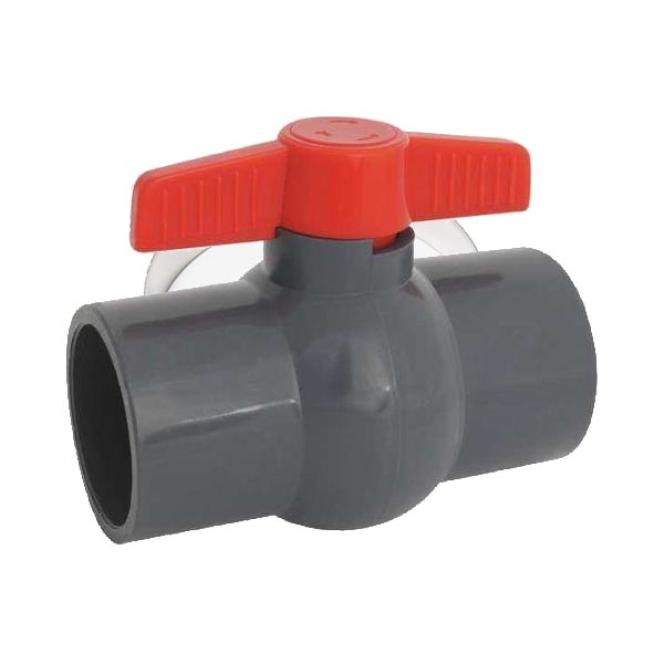 PVC Threaded Ball Valve 15mm