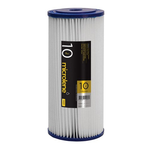 "Davey 10"" Jumbo Pleated Sediment Cartridge - 20 micron"